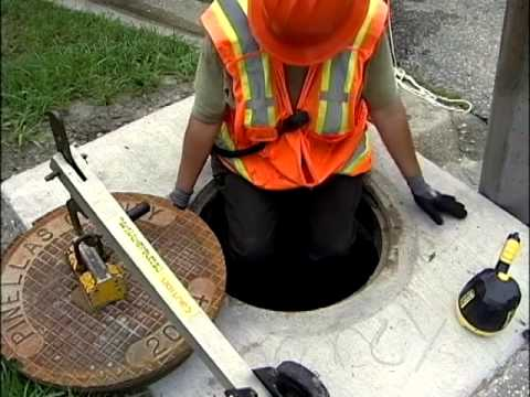 Icey how to clean sewers