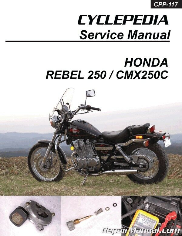 2004 honda cmx250c rebel manual