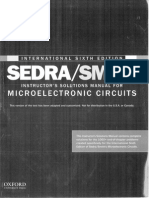 Microelectronic circuits 6th edition solution manual