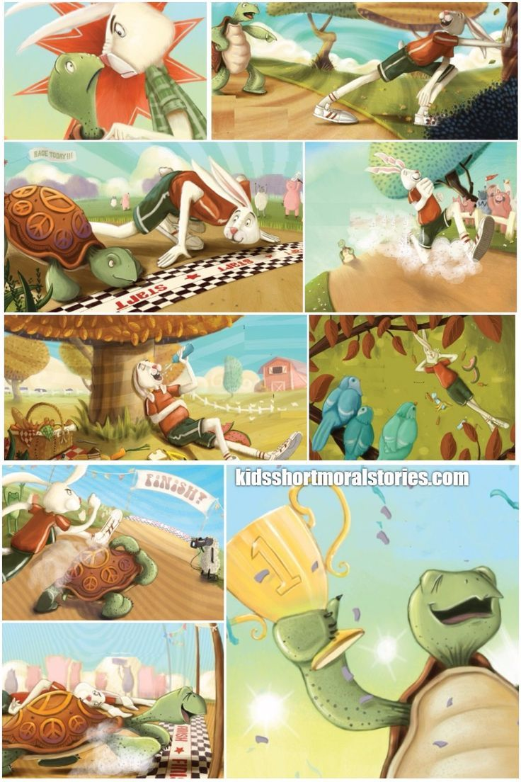 Tortoise and the hare story with pictures pdf