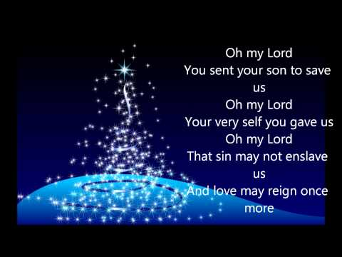 Oh lord my god lyrics pdf