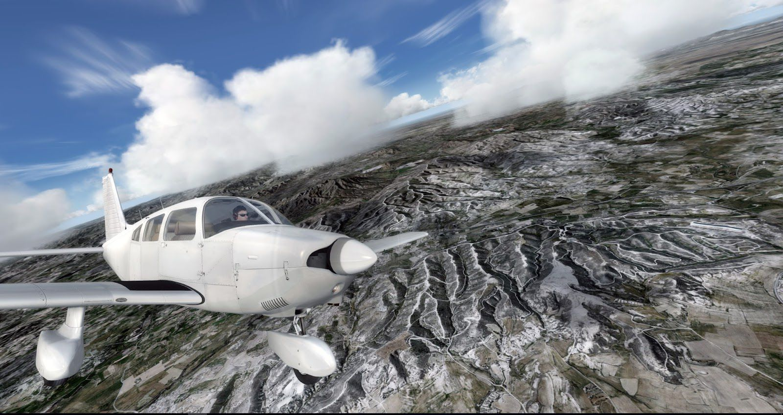 P3d how to add scenery