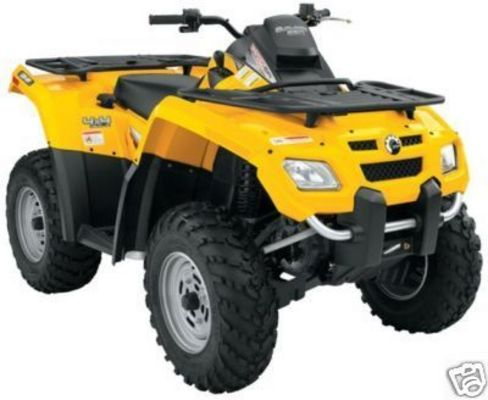 2004 can am outlander 400 service manual