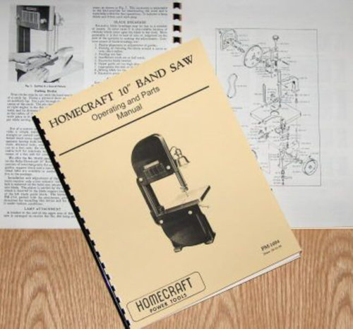 delta 10 inch band saw user manual
