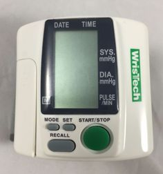 wristech blood pressure monitor hl 168 manual