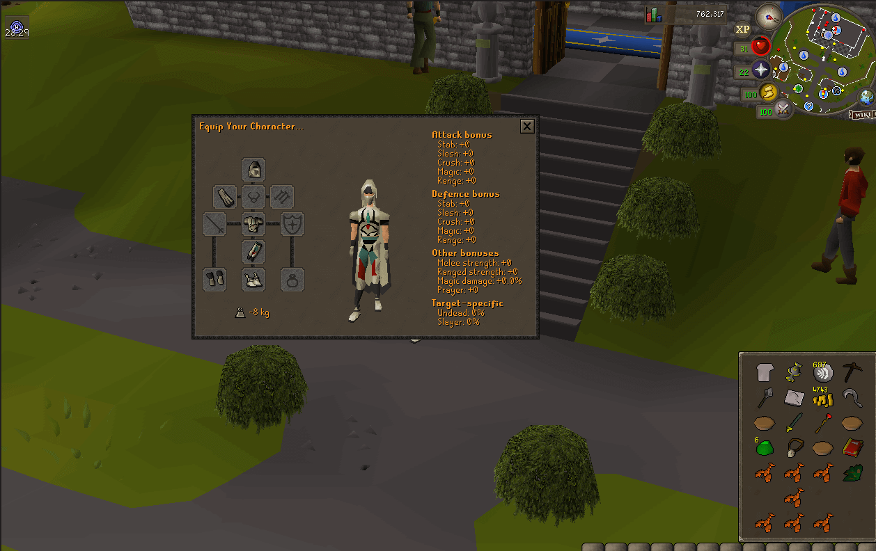 Osrs how to get graceful outfit