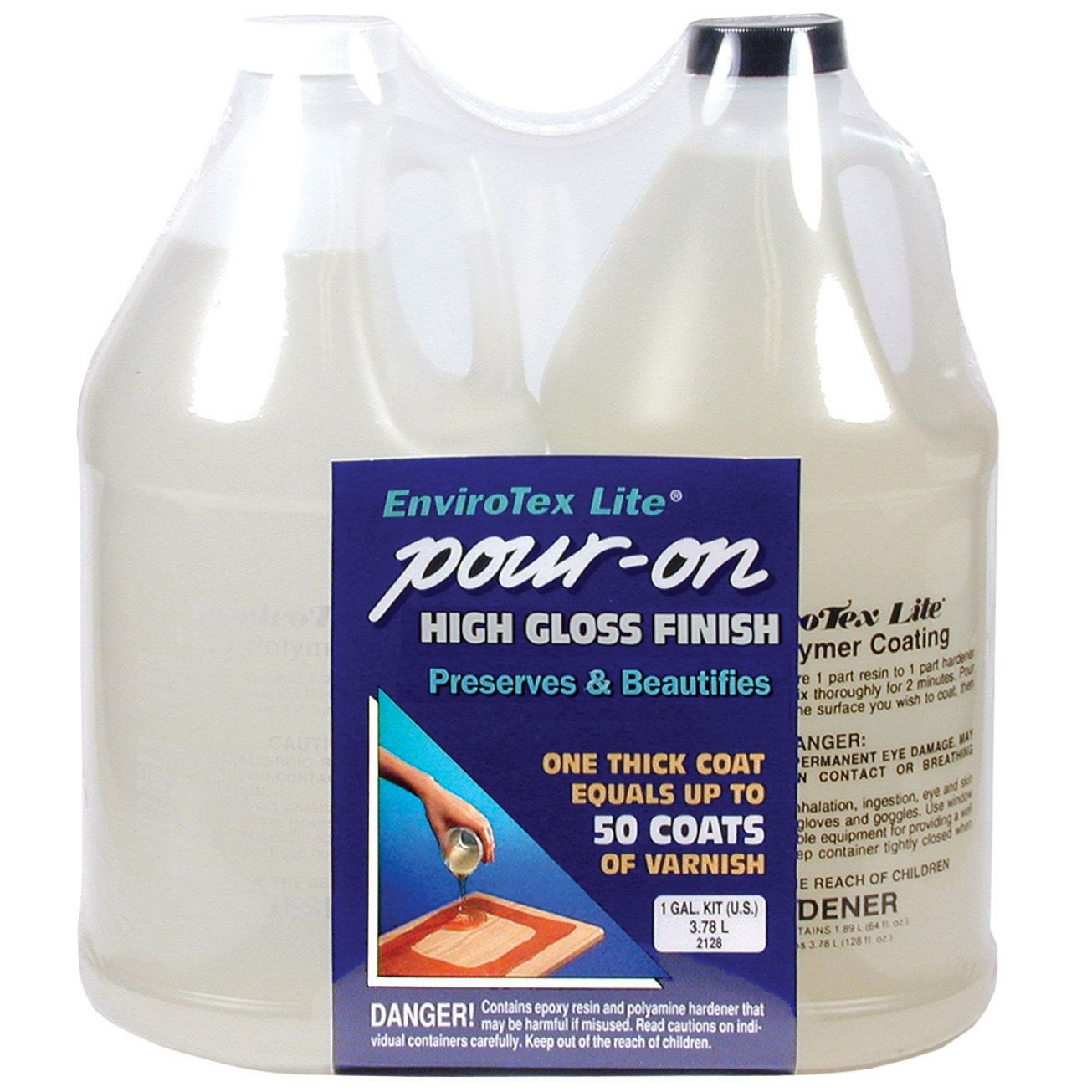 Pour on high gloss finish how to use