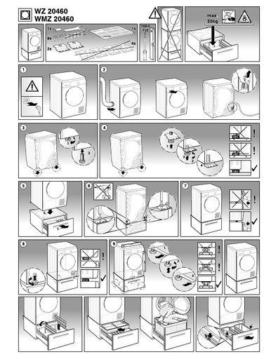 bosch vision 500 dryer service manual