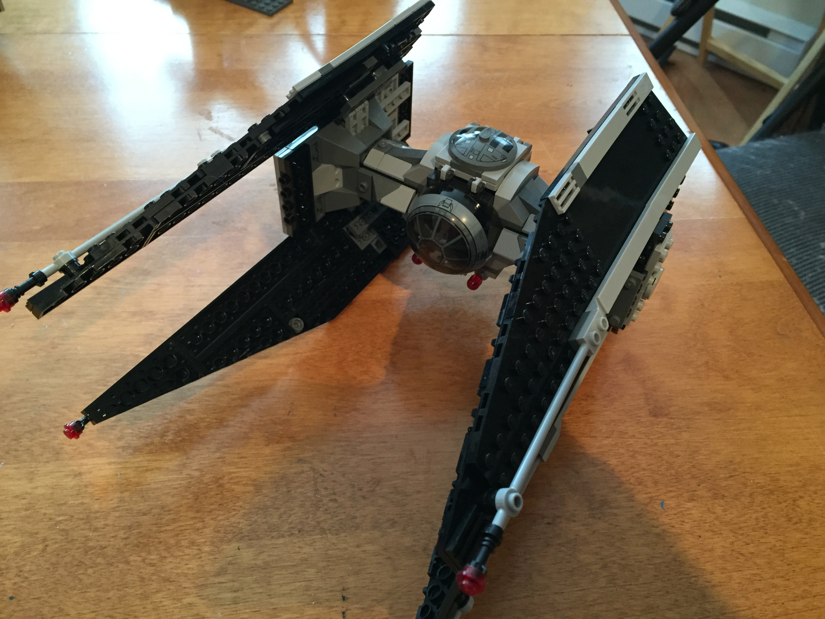 Lego tie fighter instructions 75082