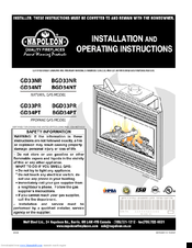 napoleon gds20p fireplace blower installation instructions