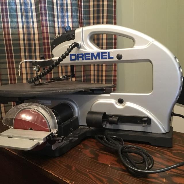 Dremel 1800 scroll saw manual