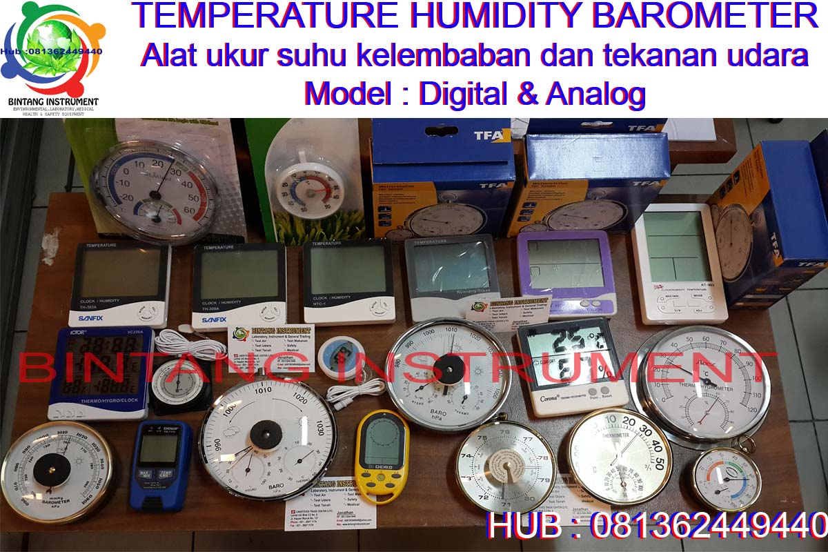 htc 1 thermo hygrometer manual