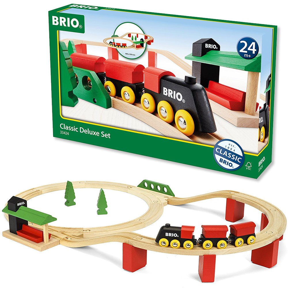 brio deluxe railway set instructions