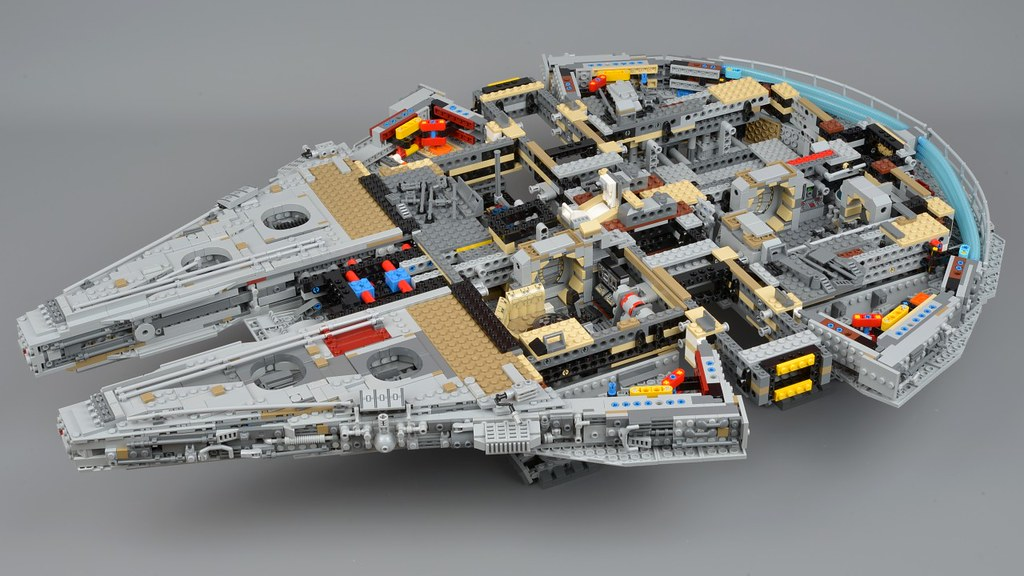 lego millennium falcon instructions 75192