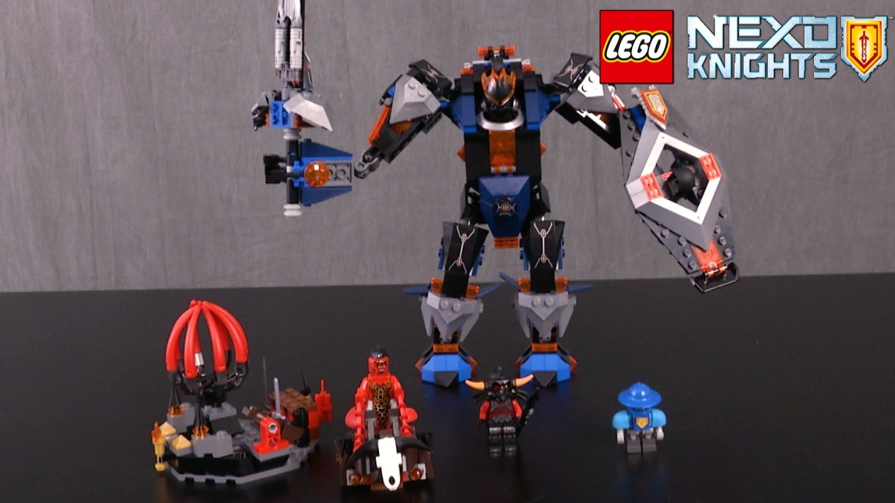 lego nexo knights the black knight instructions